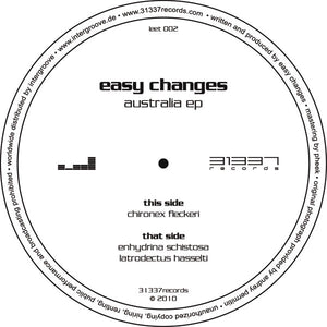 "Easy Changes - Australia EP (12"", EP) (VG+) - natural selection vinyl records"