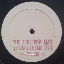 "Load image into Gallery viewer, Sylvia Robinson - The Lollipop Man (Kojak Theme '77) / Queen Bee (12"", TP, W/Lbl) (VG+) - natural selection vinyl records"