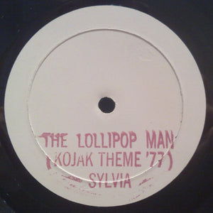 "Sylvia Robinson - The Lollipop Man (Kojak Theme '77) / Queen Bee (12"", TP, W/Lbl) (VG+) - natural selection vinyl records"