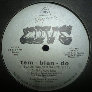 "2DVS - Tem-Blan-Do (12"") (VG) - natural selection vinyl records"