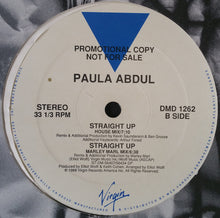 "Load image into Gallery viewer, Paula Abdul - Straight Up (12"", Promo) (VG+) - natural selection vinyl records"