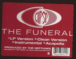 "Clipse - The Funeral (12"") (VG+) - natural selection vinyl records"