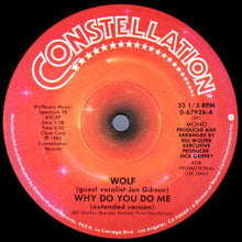 "Load image into Gallery viewer, Bill Wolfer - Why Do You Do Me (12"", Promo) (VG+) - natural selection vinyl records"