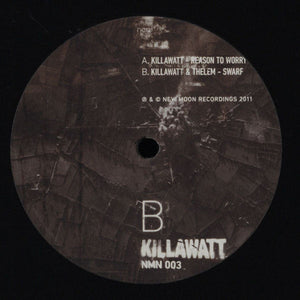 "Killawatt (2) - Reason To Worry / Swarf (12"", Ltd) (VG+) - natural selection vinyl records"