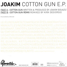 "Load image into Gallery viewer, Joakim - Cotton Gun E.P. (12"", EP) (VG+) - natural selection vinyl records"