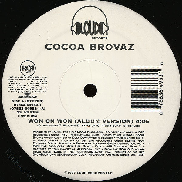 Cocoa Brovaz - Won On Won (12