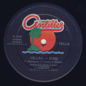 "Mr. Yellow - Yella!! (12"") (VG) - natural selection vinyl records"