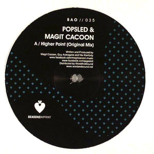 "Popsled & Magit Cacoon - Higher Point (12"") (NM or M-) - natural selection vinyl records"