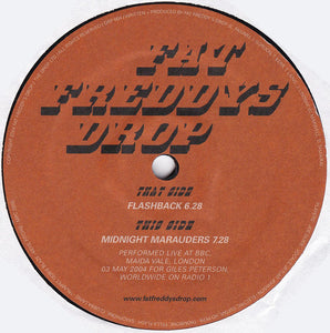 "Fat Freddy's Drop - Flashback (12"") (VG+) - natural selection vinyl records"