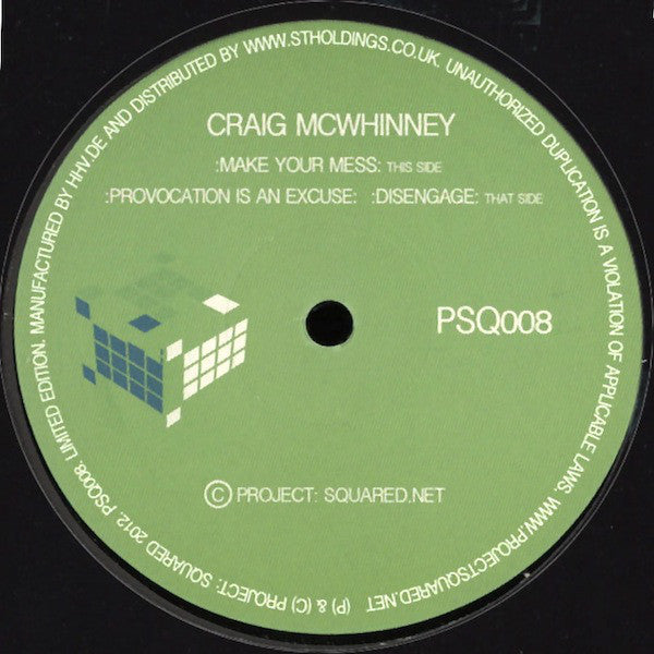 Craig McWhinney - Make Your Mess (12