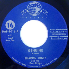 "Load image into Gallery viewer, Sharon Jones & The Dap-Kings - Genuine (7"", Single) (VG+) - natural selection vinyl records"
