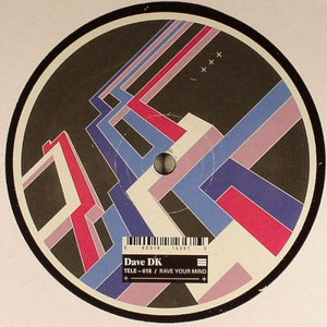 "Dave DK - Rave Your Mind (12"") (VG+) - natural selection vinyl records"