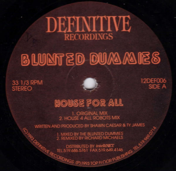 Blunted Dummies - House For All (12