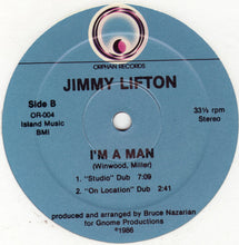 "Load image into Gallery viewer, Jimmy Lifton - I'm A Man (12"") (NM or M-) - natural selection vinyl records"