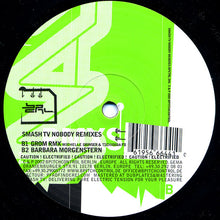 "Load image into Gallery viewer, Smash TV - Nobody (Rmxs) (12"") (VG) - natural selection vinyl records"