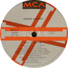 "Load image into Gallery viewer, Donna de Lory - Just A Dream (12"", Single) (NM or M-) - natural selection vinyl records"