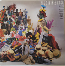 Load image into Gallery viewer, Elton John - Reg Strikes Back (LP, Album, Gat) (NM or M-) - natural selection vinyl records