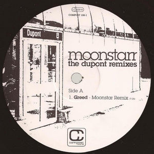 "Moonstarr - The Dupont Remixes (12"") (VG+) - natural selection vinyl records"