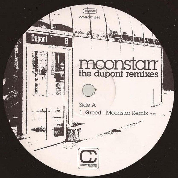 Moonstarr - The Dupont Remixes (12