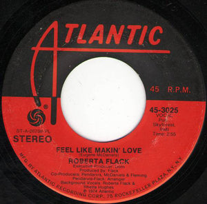 "Roberta Flack - Feel Like Makin' Love / When You Smile (7"", Single, PL ) (G+) - natural selection vinyl records"