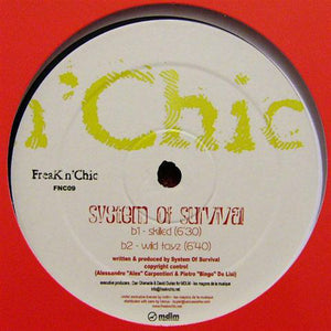 "System Of Survival - Back (12"") (VG+) - natural selection vinyl records"