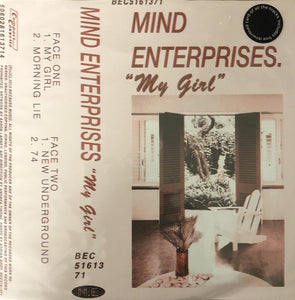 "Mind Enterprises - My Girl (12"") (VG+) - natural selection vinyl records"