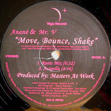 "Load image into Gallery viewer, Anané & Mr. V (4) - Move, Bounce, Shake (12"") (VG+) - natural selection vinyl records"