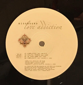 Bioground - Love Addiction (2xLP) (VG+) - natural selection vinyl records