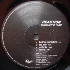 Brother's Yard - Reaction (2xLP, Album, Gat) (VG+) - natural selection vinyl records