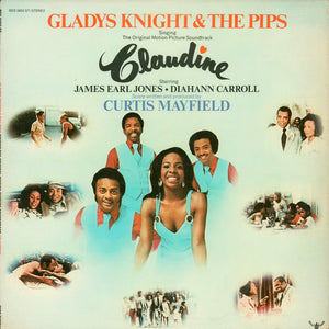 Gladys Knight And The Pips - Claudine (LP, Album) (VG+) - natural selection vinyl records
