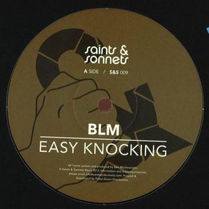 "BLM - Easy Knocking (12"") (NM or M-) - natural selection vinyl records"
