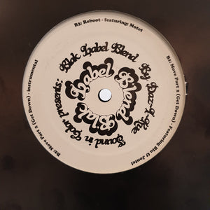 "Daz-I-Kue - Blak Label Blend (12"") (VG+) - natural selection vinyl records"