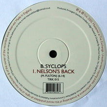 "Load image into Gallery viewer, Syclops - The Fly (12"") (NM or M-) - natural selection vinyl records"