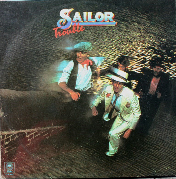 Sailor - Trouble (LP, Album) (VG) - natural selection vinyl records
