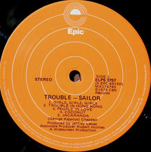 Load image into Gallery viewer, Sailor - Trouble (LP, Album) (VG) - natural selection vinyl records