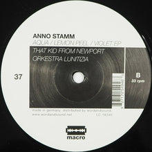 "Load image into Gallery viewer, Anno Stamm - Aqua / Lemon Peel / Violet EP (12"", EP) (VG+) - natural selection vinyl records"