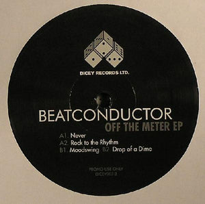 "Beatconductor - Off The Meter EP (12"", EP, Promo) (VG+) - natural selection vinyl records"