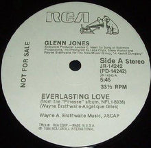 "Load image into Gallery viewer, Glenn Jones - Everlasting Love (12"", Promo) (VG) - natural selection vinyl records"