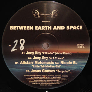 "Various - Between Earth & Space (12"", Ltd, Num, 180) (VG+) - natural selection vinyl records"