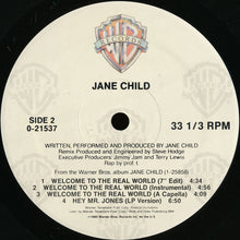 "Load image into Gallery viewer, Jane Child - Welcome To The Real World (12"") (NM or M-) - natural selection vinyl records"