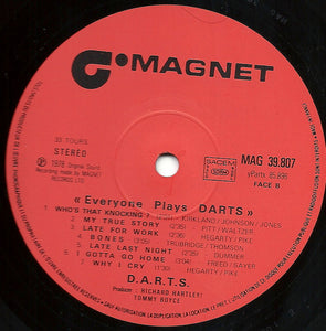 Darts - Everyone Plays Darts (LP, Album) (VG+) - natural selection vinyl records