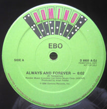 "Load image into Gallery viewer, Ebo (2) - Always And Forever (12"", Promo) (NM or M-) - natural selection vinyl records"