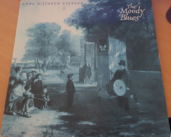 The Moody Blues - Long Distance Voyager (LP, Album, Gat) (G+) - natural selection vinyl records