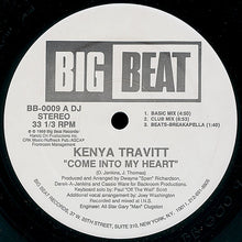"Load image into Gallery viewer, Kenya Travitt - Come Into My Heart (12"", Promo) (VG+) - natural selection vinyl records"