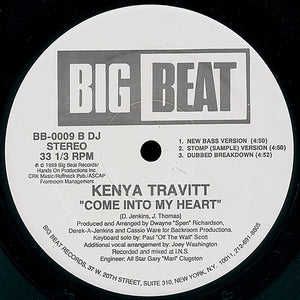 "Kenya Travitt - Come Into My Heart (12"", Promo) (VG+) - natural selection vinyl records"