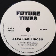 "Load image into Gallery viewer, Japa Habilidoso - Funk Do Sindicalismo / Agronomia Setorial (12"") (VG+) - natural selection vinyl records"