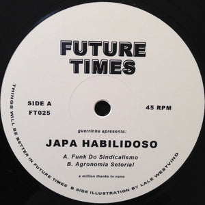 "Japa Habilidoso - Funk Do Sindicalismo / Agronomia Setorial (12"") (VG+) - natural selection vinyl records"