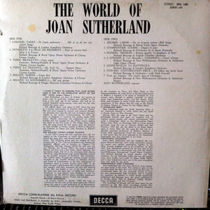 Joan Sutherland - The World Of Joan Sutherland (LP, Comp) (VG+) - natural selection vinyl records