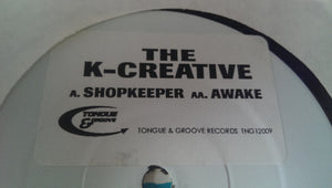 "The K-Creative - Shopkeeper (12"", Promo, W/Lbl) (VG+) - natural selection vinyl records"