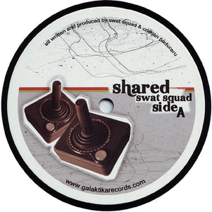 "Swat-Squad - Shared (12"") (VG+) - natural selection vinyl records"